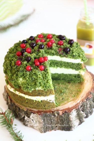 tort leśny mech ciasto
