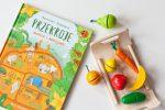 przekroje, książka, książka dla dzieci, ksiązka owoce i warzywa, recenzja