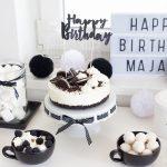 Black & white party ( dziewiąte urodziny Mai)