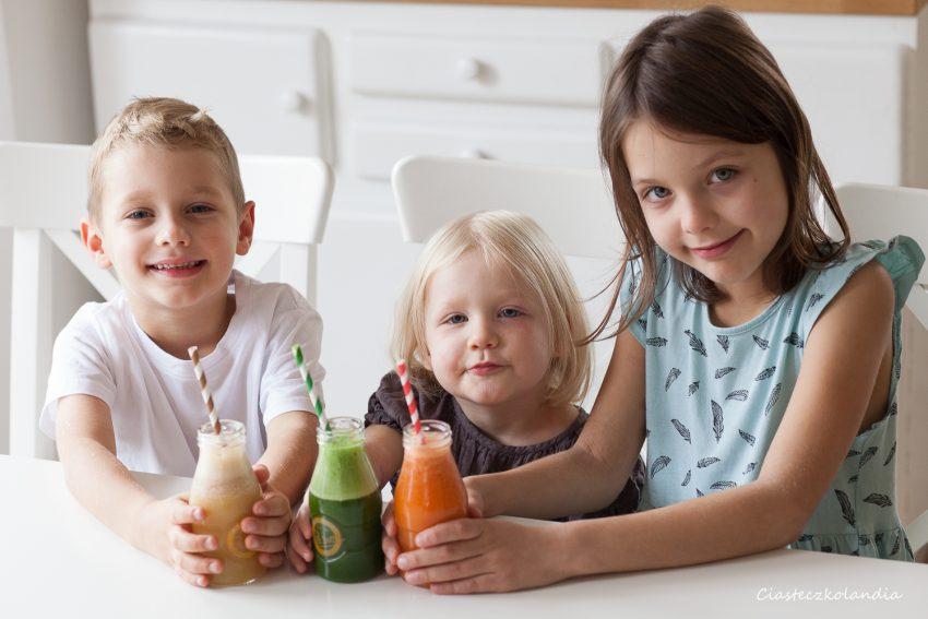dzieci, sok, kuvings, wyciskarka wolnoobrotowa, post sponsorowany