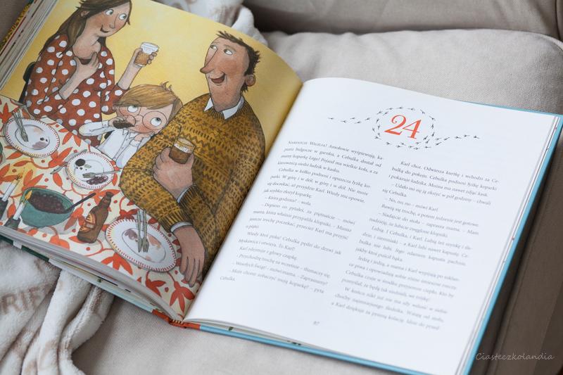 książka, ksiązka dla dzieci, na święta, adwent, prezent dla cebulki