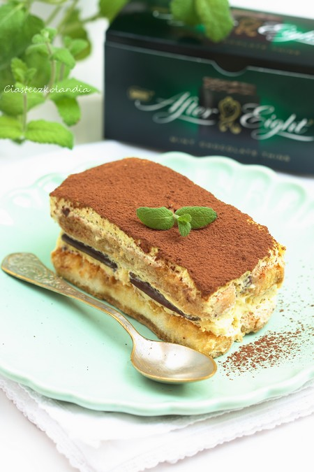 tiramisu z after eight czekoladowo miętowe