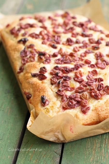 toskańskie ciasto winogronowe