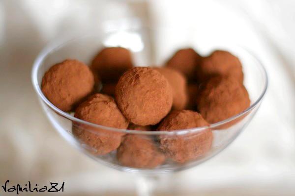 trufle czekoladowo rumowe