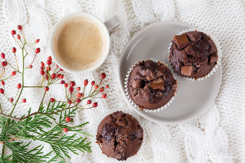 muffinki czekoladowe Nigelli Lawson