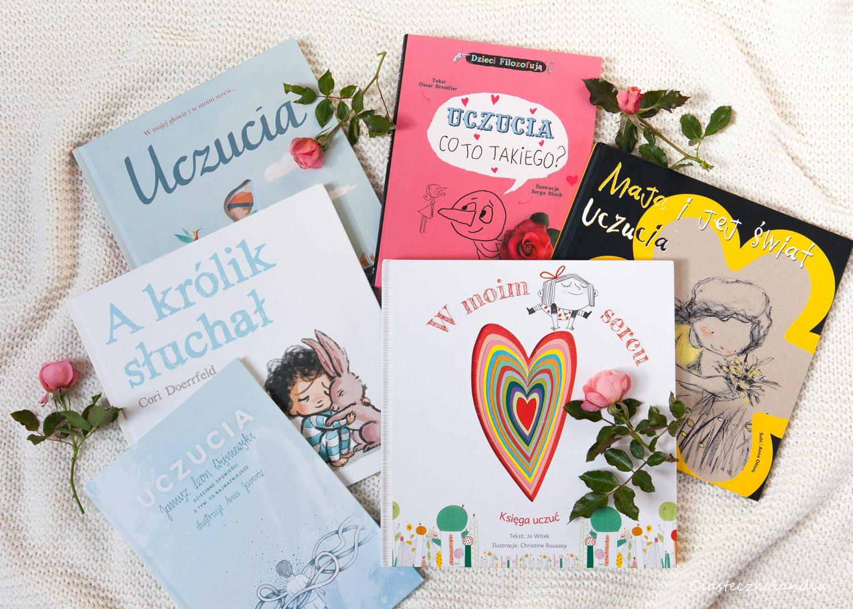 książki o uczuciach i emocjach dla dzieci
