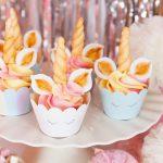 Babeczki jednorożce (unicorn cupcake)