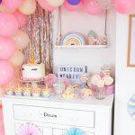 Jednorożcowe urodziny Małgosi (przyjęcie w stylu Unicorn party)
