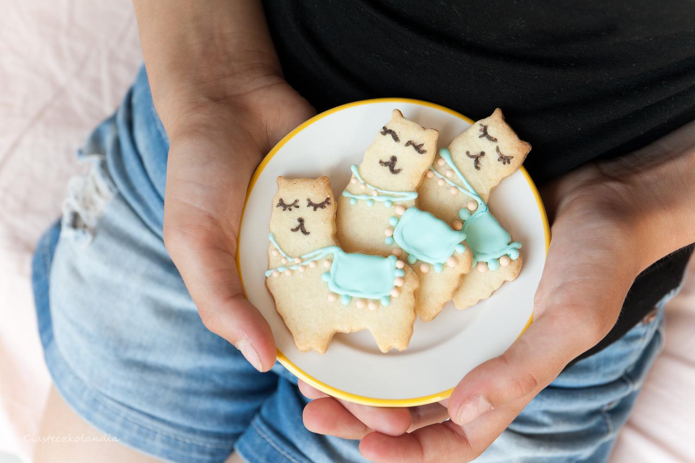 ciasteczka lamy , lama cookies