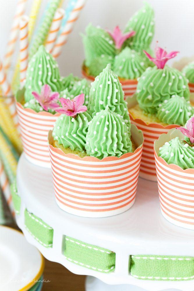 babeczki kaktusy
