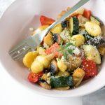 Gnocchi z pieczonymi warzywami